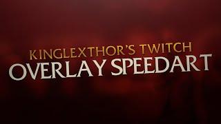 getlinkyoutube.com-KingLexthor   Twitch Overlay Speedart   Photoshop