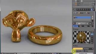 getlinkyoutube.com-Blender 2.53 Realistic Gold Ring Tutorial