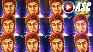 getlinkyoutube.com-★BIG WIN!★ ANTHONY AND CLEOPATRA & THE FORCE OF LEGEND | Slot Machine Bonus
