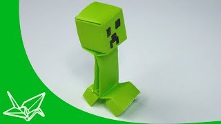 getlinkyoutube.com-Minecraft Creeper Origami