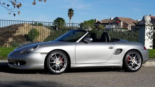 getlinkyoutube.com-3.4L Swapped Porsche Boxster -  One Take