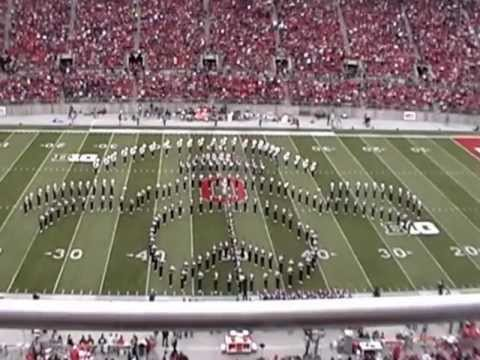 Ohio State Marching Band TBDBITL Halftime Patriotic show 11/3/12