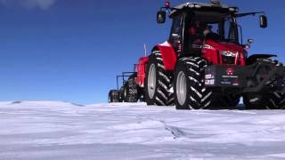 Massey Ferguson Day 9 of Antarctica2: Daily update from Nicolas