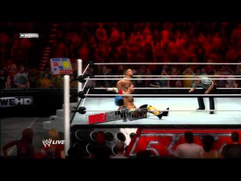 WWE 12 Inside the Ring - CM Punk vs John Cena - FULL CHAMPIONSHIP MATCH