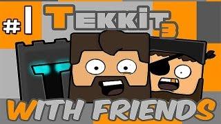 getlinkyoutube.com-Minecraft: Tekkit With Friends Ep.1 - Mining, Mining, MINING!