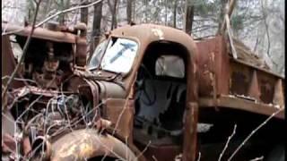 getlinkyoutube.com-abandoned old cars and trucks