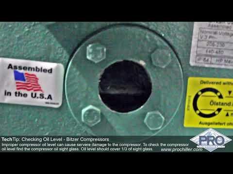 Pro Refrigeration Tech Tip: Checking Compressor Oil Level