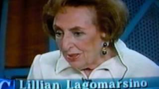 getlinkyoutube.com-Evita Peron's best friend, Lilliane -- clip from the show of Cristina Saralegui, Madonna