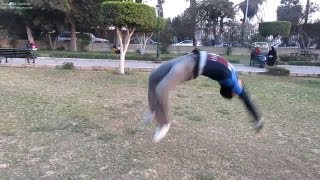 getlinkyoutube.com-learn back handspring تعلم الشقلبه الخلفيه بكل سهوله ك/جابر
