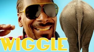 "getlinkyoutube.com-Jason DeRulo - ""WIGGLE"" feat. Snoop Dogg - ANIMALS DANCING PARODY"