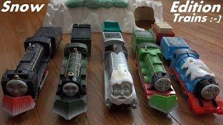 getlinkyoutube.com-Thomas & Friends Trackmaster Snow Edition Trains - Christmas Trains :-)