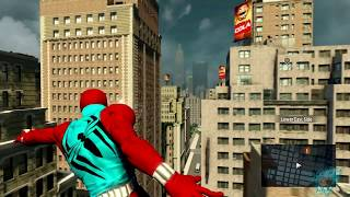 getlinkyoutube.com-The Amazing Spiderman 2 (PC) Scarlet Spider Suit Mod Review【60FPS 1080P】