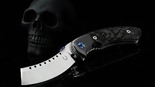 getlinkyoutube.com-Red Horse Knife Works BLACK DEATH Hell Razor