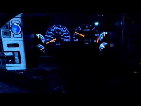 Панель приборов 1997 года вместо штатной. Chevy Blazer s10 1994 г.