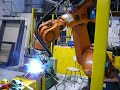 KUKA KR125/2  arc welding robot with fronius TPS4000