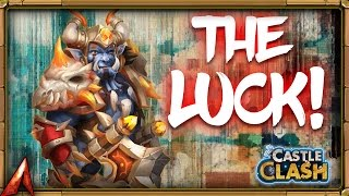 Castle Clash The Luck Is Here!