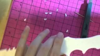 getlinkyoutube.com-Build Vlog 1: Paper Huntsman Knife