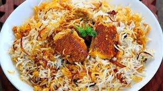 Boneless Fish Biryani - Very easy Hyderabadi Fish dum biryani recipe