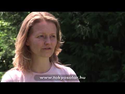 TokyoSolar napkollektor tapasztalat, napkollektor vélemény   Dvorszky Krisztina, Kiskunlacháza