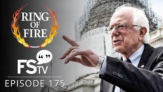 getlinkyoutube.com-Ring of Fire On Free Speech TV   Episode 175 - Feel the Bern!!!