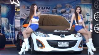 getlinkyoutube.com-พริตตี้ ยางรถไซหลุน งานบางแสน