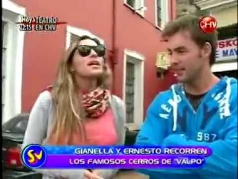 Gianella Marengo y Ernesto Lavin