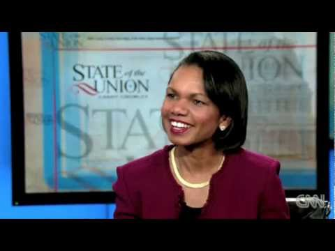Candy gets to know Condi Rice for CNN