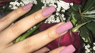getlinkyoutube.com-DIY Acrylic Nails Hack! Easy At Home Tutorial!