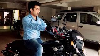 getlinkyoutube.com-Harley Davidson Street 750 exhaust amazing sound: Somanshu Gaur