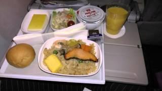 getlinkyoutube.com-【4K】アキーラさん利用④エミレーツ航空・成田空港→ドバイ!機内食編!EK319・Emirates airlines from Tokyo to Dubai