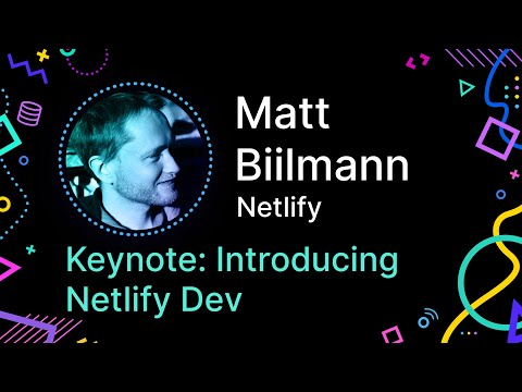 link to netlify dev talk