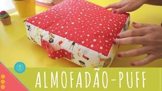 getlinkyoutube.com-Descomplica! Aprenda a costurar um almofadão, puff, cama para pet
