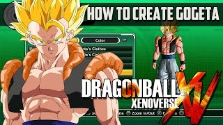 Dragon Ball Xenoverse How to Create Gogeta (Character Creation)