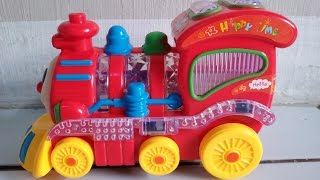 Choo Choo Train Fun Toy-Mini's Lovely Locomotive with Wonderful Music and Light- Toy Cars
