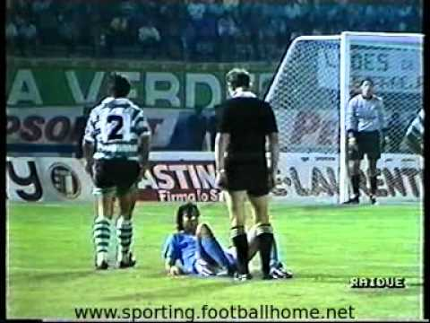 Sporting - 0 Nápoles - 0 de 1989/1990 Uefa