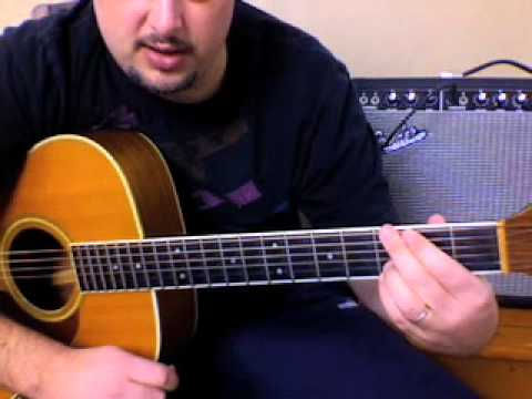 acoustic guitar lesson - good riddance - time of your life-  green day - easy beginner guitar songs