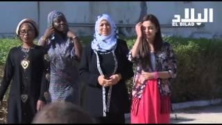 getlinkyoutube.com-طالبات الإقامة الجامعية باية حسين بباب الزوار بالجزائر العاصمة يحتفلن بالعيد