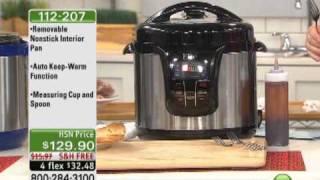 getlinkyoutube.com-Elite 13-Function 8qt Electronic Pressure Cooker
