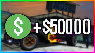 getlinkyoutube.com-GTA 5 Online - How To Make $50,000 In Under 38 Seconds! - Easy Money Time Trial For GTA Online!