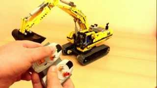 getlinkyoutube.com-LEGO Technic 8043 Motorized Excavator