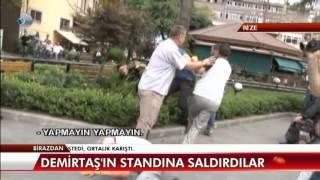 getlinkyoutube.com-Demirtaş'ın Standına Saldırı! Rize'de HDP'ye saldırı...
