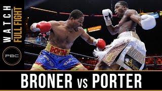 getlinkyoutube.com-FULL FIGHT: Adrien Broner vs Shawn Porter - 6/20/2015 - PBC on NBC