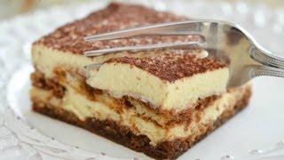 getlinkyoutube.com-Italian Tiramisu Recipe - Easy Makeahead Dessert with Espresso and Mascarpone