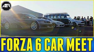 getlinkyoutube.com-Forza 6 Online : CAR MEET!!! (Out Of Map Glitch) w/ AR12 Crew