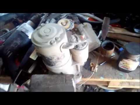 Снятие и ремонт стартера Nissan Serena 23 двс SR20