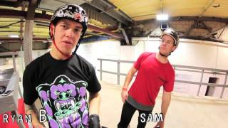 RockerBMX - Ryan Taylor vs Sam Pilgrim game of B.I.K.E
