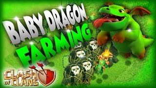 getlinkyoutube.com-Clash Of Clans Baby Dragons -Best Troops For Farming And Trophy Pushing |PROVEDDD!! NORTY NIK