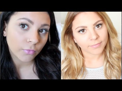 How to: Black to Blonde Hair (With Less Damage!)