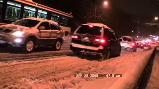 getlinkyoutube.com-Chaos in Toronto During Snow Storm 2