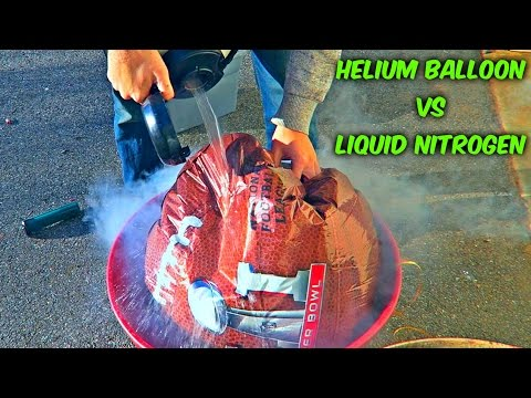 What Happens If You Freeze Helium Balloon?